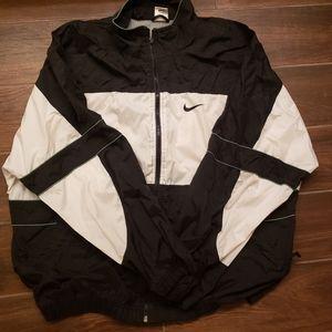 Vintage 90's Nike Windbreaker Jacket Men XL white